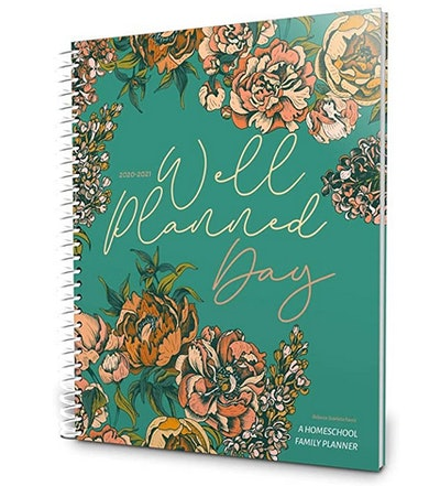 Well Planned Gal Homeschool Family Planner