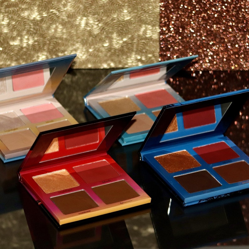 The new Dusk to Dawn collection has four palettes with shades that work with all skin tones.