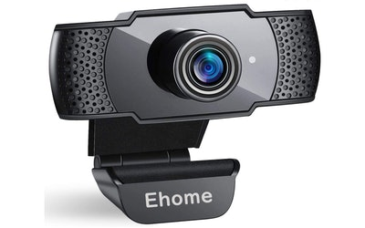 Ehome 1080P Webcam with Microphone