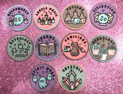 Witch Merit Badges Patches