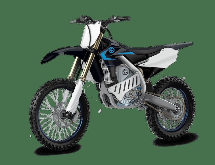 EMX Powertrain is an electric motocross bike based on a Yamaha platform.