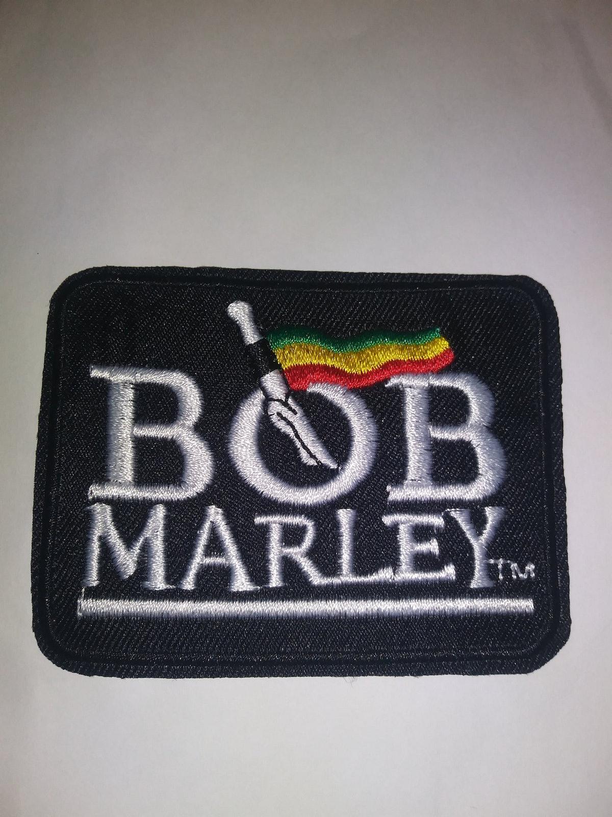 Bob Marley Iron On Patch