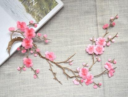 Dark Pink Blossom Flower Patch