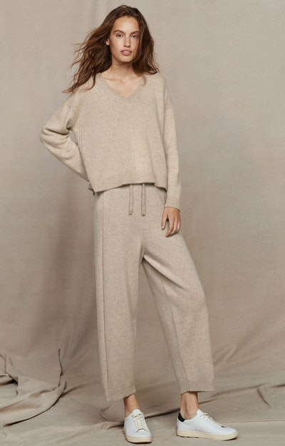 Recycled Cashmere Trousers