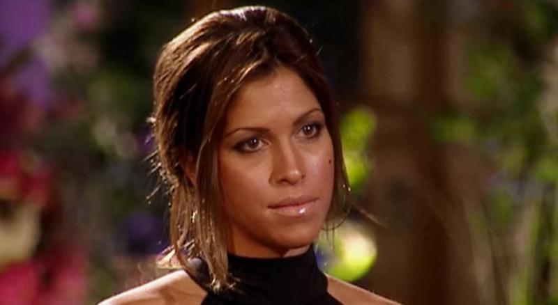 Naomi Crespo on The Bachelor via a screenshot