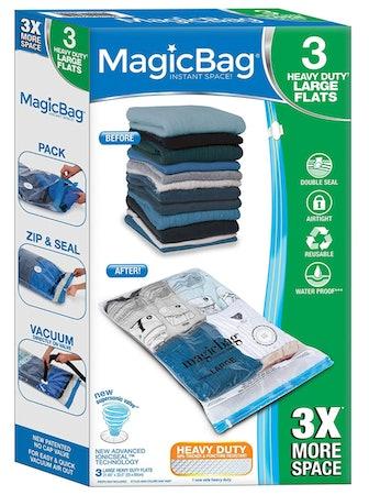 Smart Design MagicBag Vacuum-Sealed Storage Bags (3-Pack)