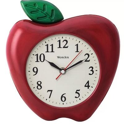 Aragram 3D Red Apple Wall Clock