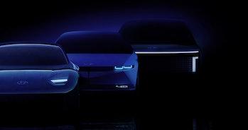 The Hyundai Ioniq 5, 6, and 7