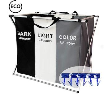 FUNFLOWERS Laundry Hamper Basket