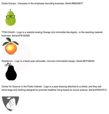 Apple lawsuit examples