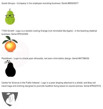 Apple lawsuit examples