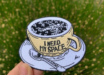 Coffee Iron On Patch