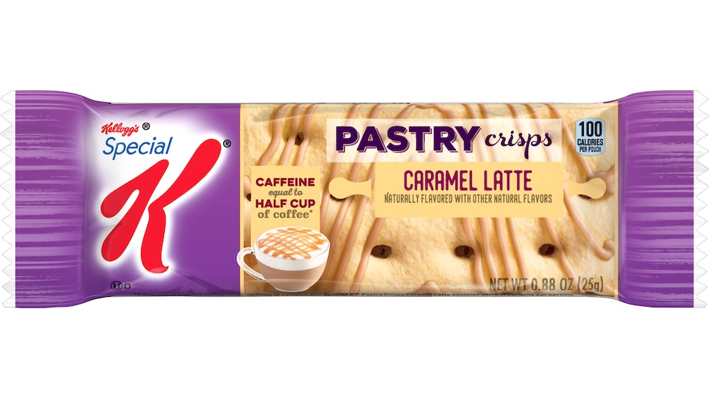 Special K's new Caramel Latte Pastry Crisps are the latest flavor in the brand's pastry crips offerings.
