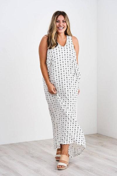 Cocoon Maxi Dress