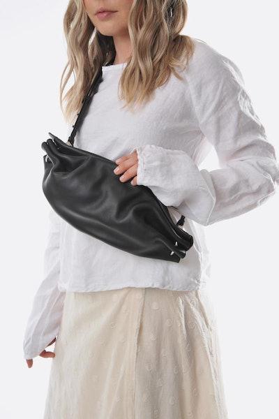 Black Ring Crossboday Bag