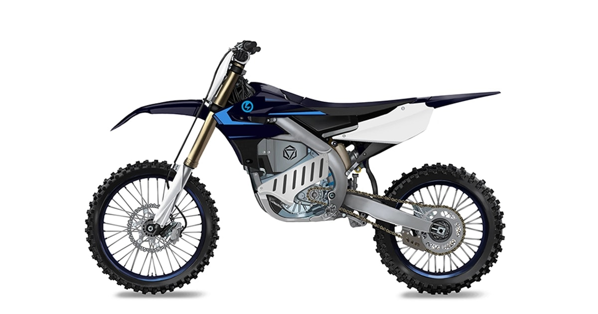 Yamaha new electric motocross bike frame could make races quieter