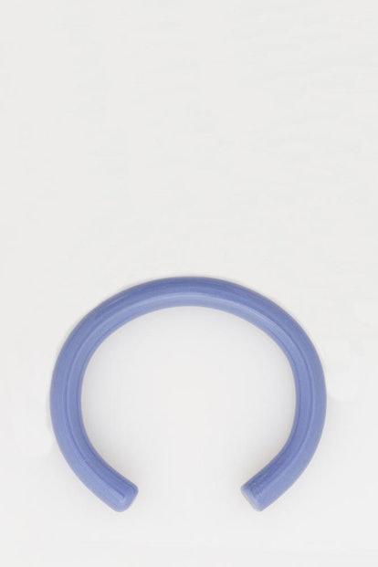 Periwinkle Glass Cuff