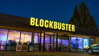 The facade of the last Blockbuster store.