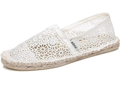 Altxic Women's Casual Breathable Hollow Out Comfort Braided Espadrilles