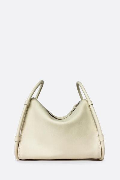 Cream Medium Aro Bag - 1 Left