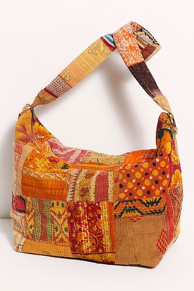 Vienna Upcycled Patchwork Tote