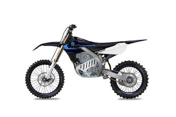 Yamaha's new EMX Powertrain-based electric dirt bike