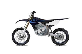 Yamaha's new EMX Powertrain-based electric dirt bike
