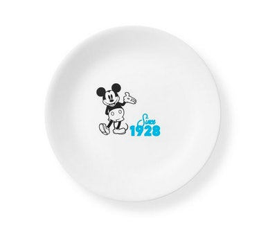 """8.5"""" Salad Plate: Mickey Mouse™ Since 1928"""