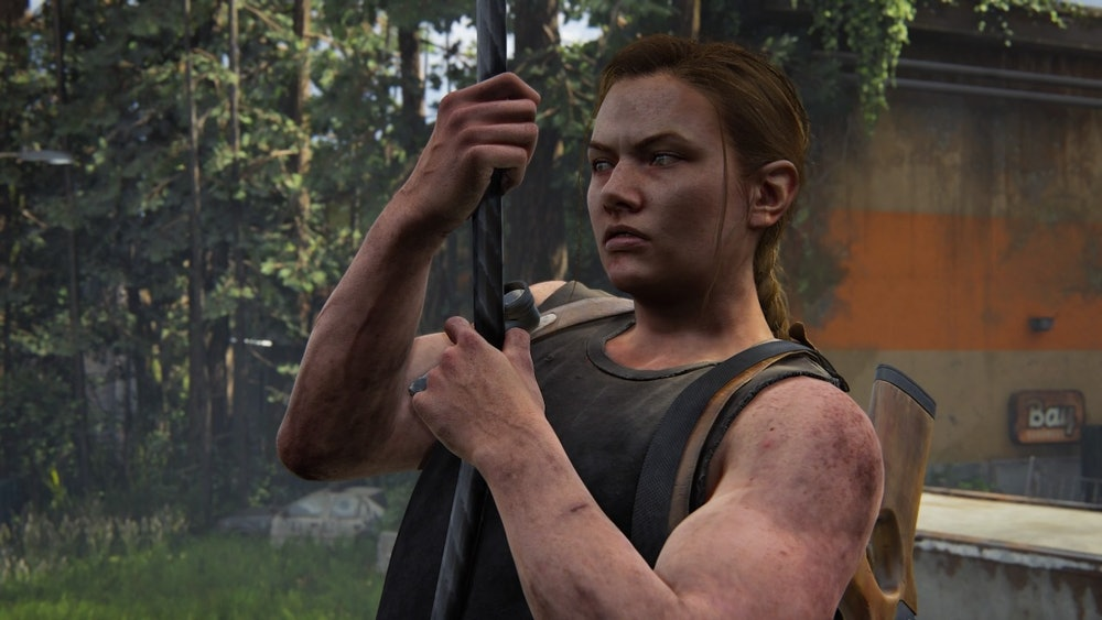 the last of us part 2 abby muscles