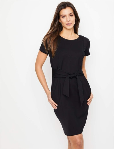 Zipper Side Access Nursing Dress