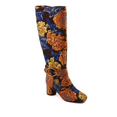 Captive Floral Brocade Boot
