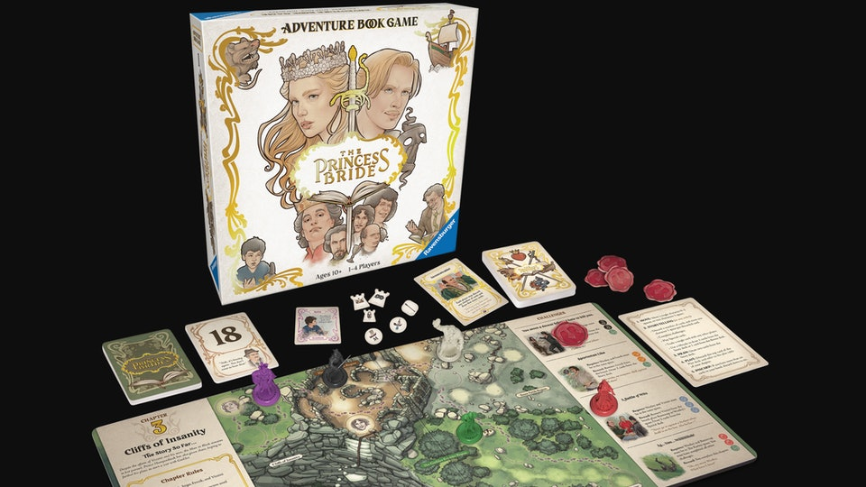 'The Princess Bride' Adventure Book Game is perfect for your next family game night.