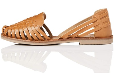 find. Women's Shoes with Plaited Leather and Gum Rubber Sole Moccasin