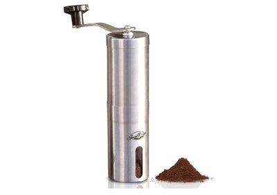 JavaPresse Manual Burr Coffee Grinder