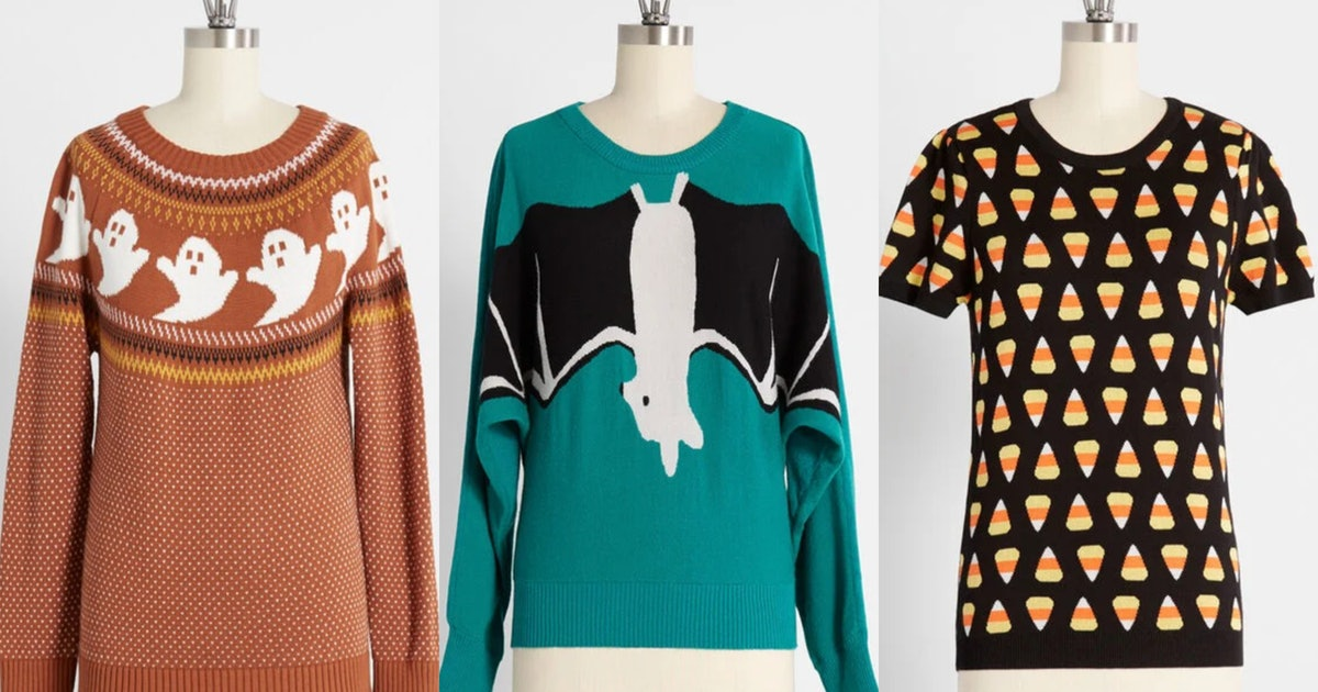 I'll Take Every One Of ModCloth's New Halloween Sweaters, Thanks