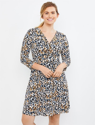 Pull Over Wrap Nursing Dress