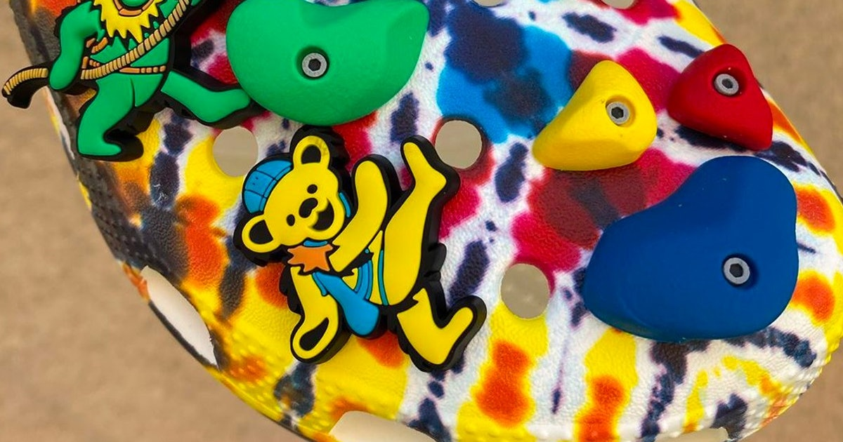 Grateful Dead follows its Nike SB collab with Chinatown Market Crocs