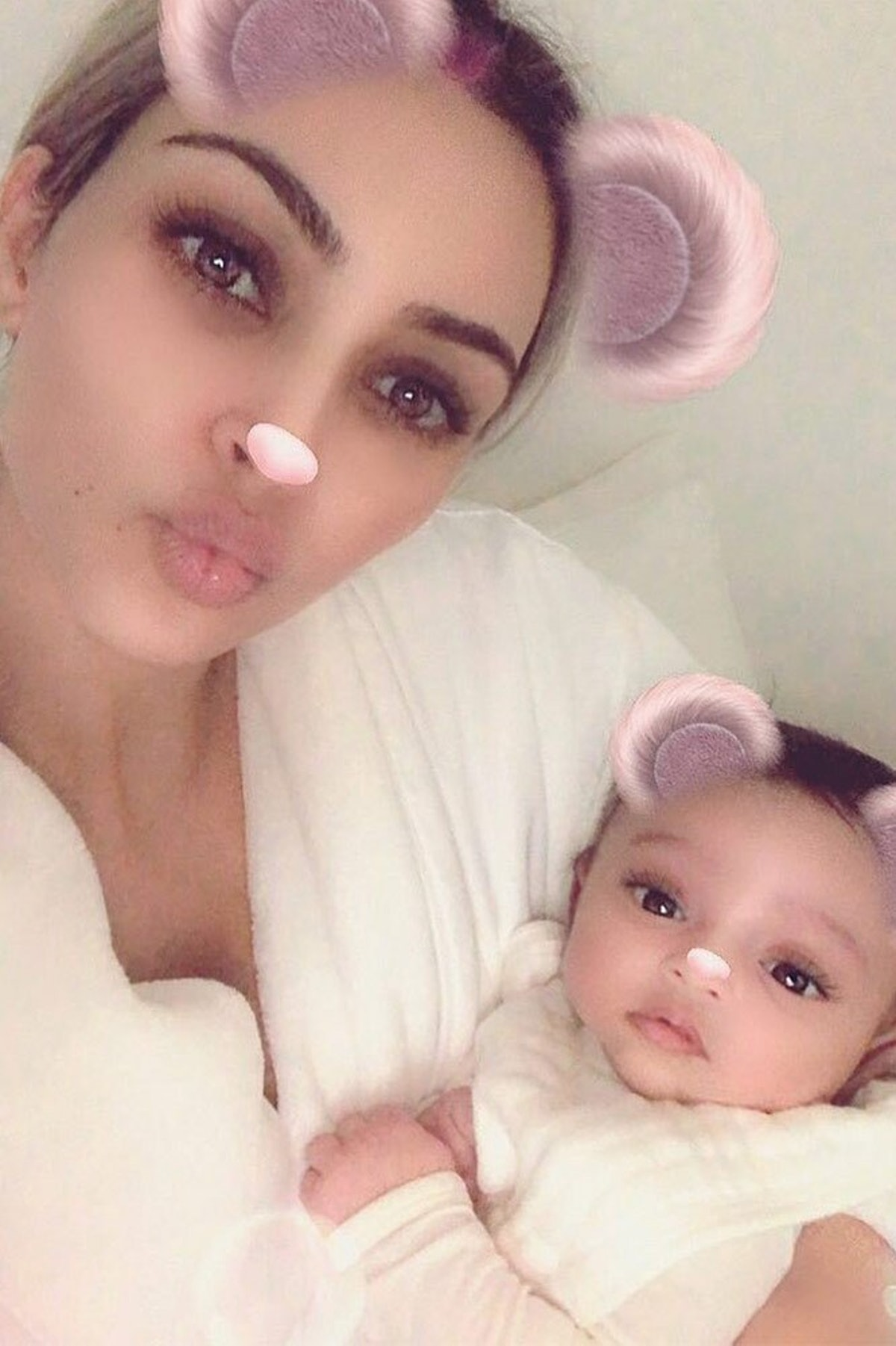 Snapchat/Kim Kardashian