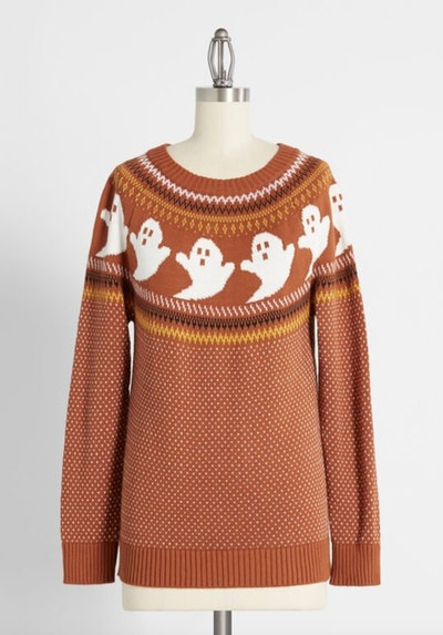 You've Been Ghosted Fair Isle Sweater