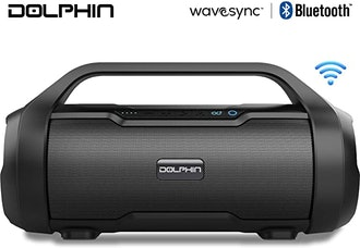 Dolphin LX-20 Dual Portable Bluetooth Waterproof Speaker