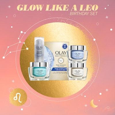 Glow Like a Leo Birthday Set