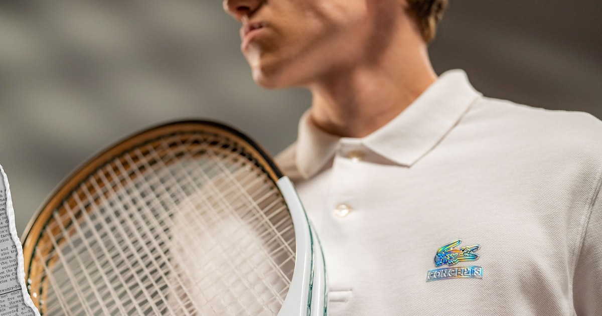 Lacoste and Concepts' collab is a love letter to Boston and tennis