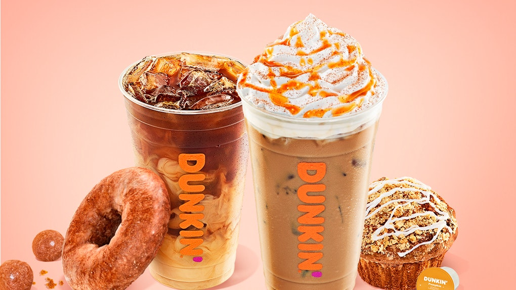 Dunkin's Pumpkin Spice Latte is a new addition to the chain's fall menu, which launches Aug. 19.
