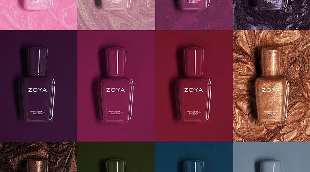 Zoya's Luscious nail polish collection is full of fall shades