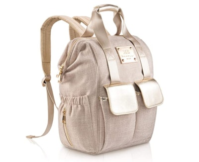MB KRAUSS Chevron Diaper Bag