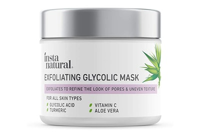 InstaNatural Exfoliating Glycolic Face Mask & Scrub