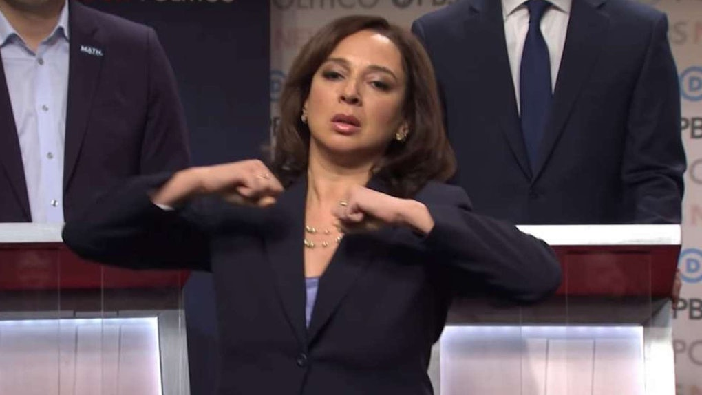 Maya Rudolph had the best reaction to her 'Saturday Night Live' character Kamala Harris being selected for vice president.