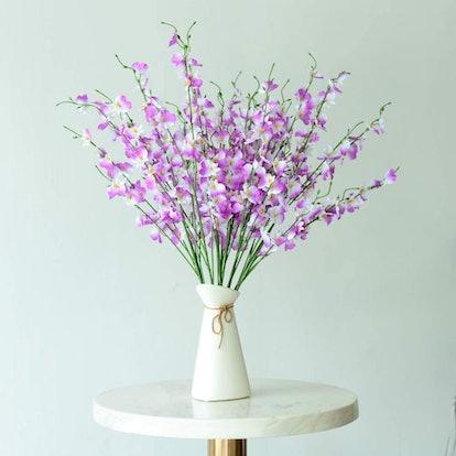 TYEERDEC Artificial Orchids (10-Pack)