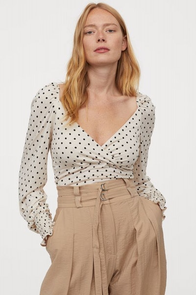 MAMA Dotted Nursing Top