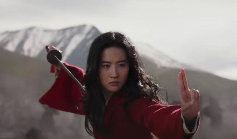 Liu Yifei as Mulan in 'Mulan' trailer